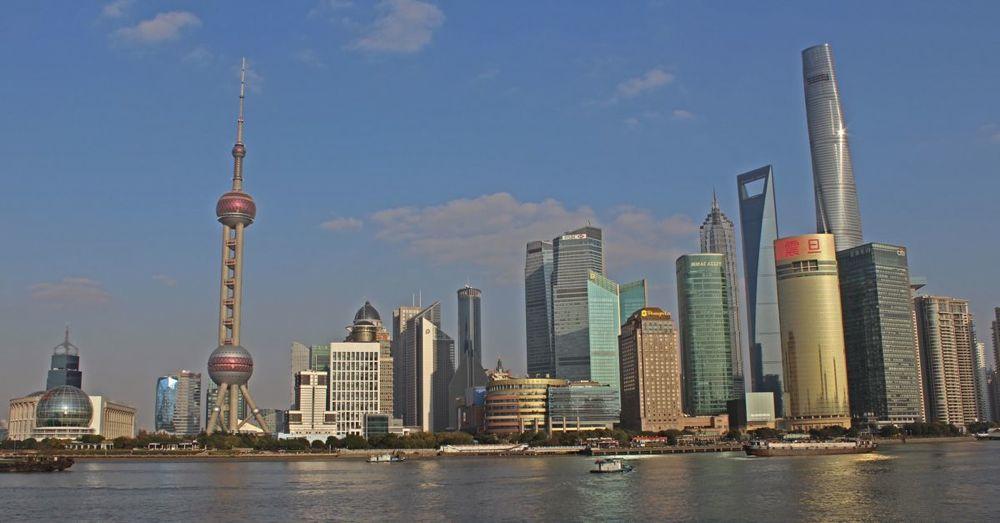Skyline Across the Huangpu River