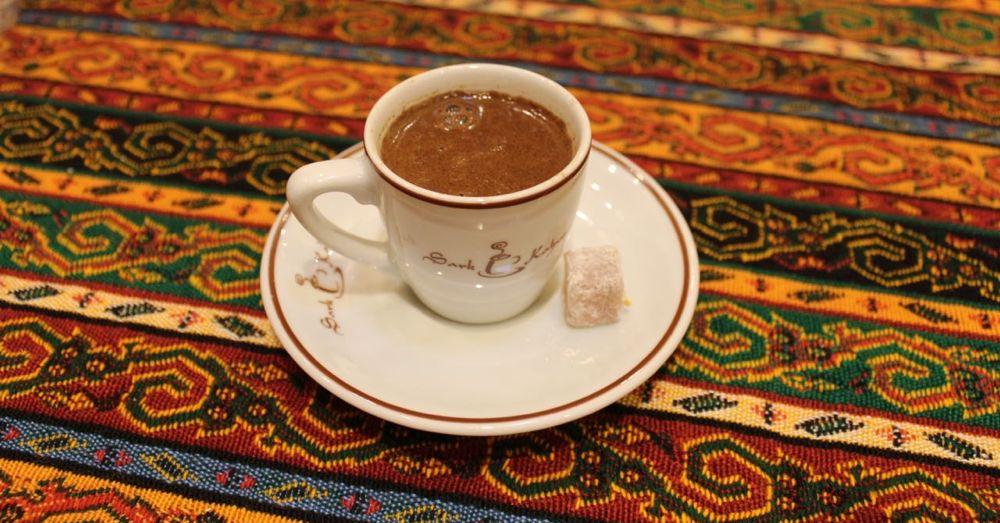 Turksin coffee (and a delight) at Sark Kahvesi.