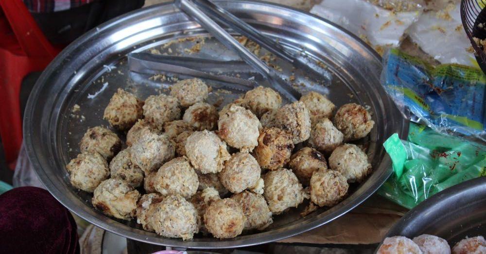 Deep Fried Rice Balls
