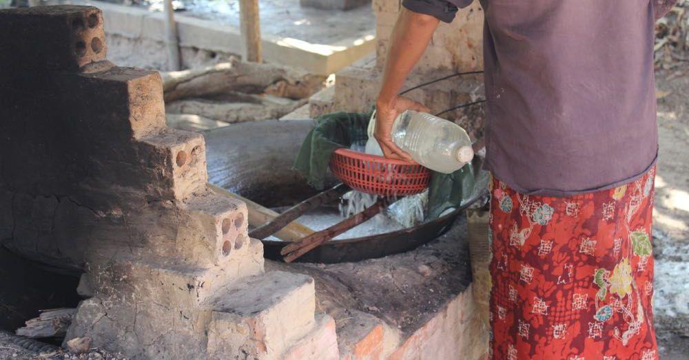 Boiling Palm Sap
