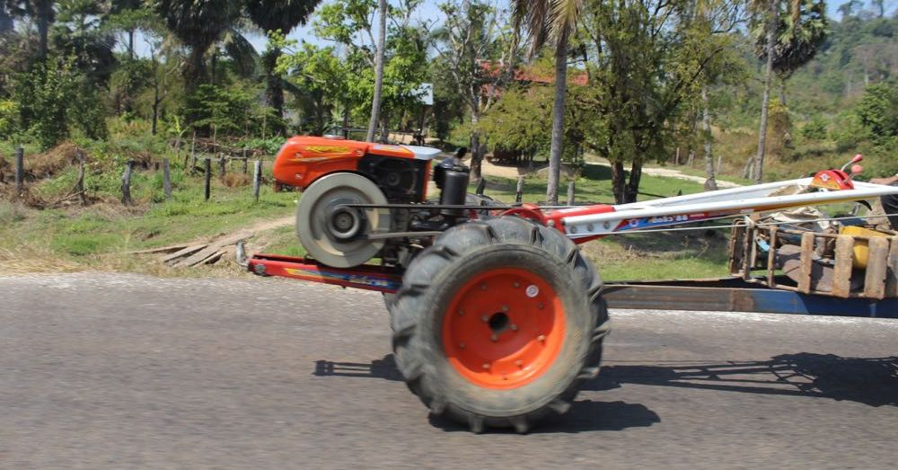 Two-Wheeled Tractor