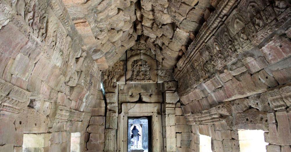 Preah Khan Ceiling