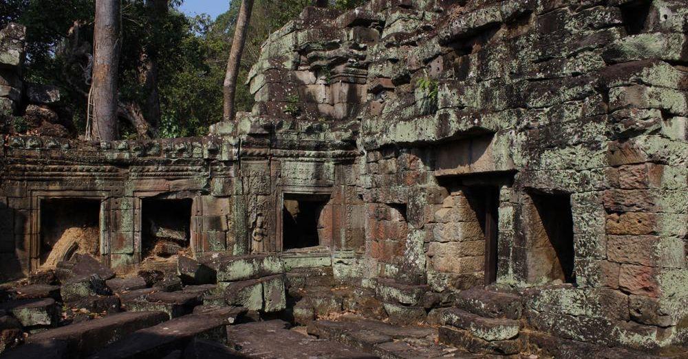 Preah Khan Courtyard