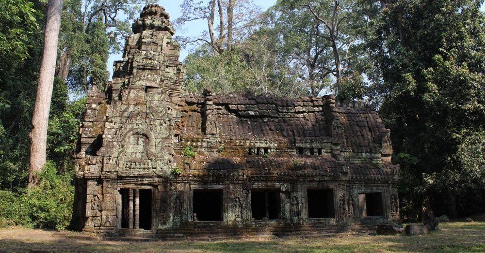 Small House Outside Preah Khan