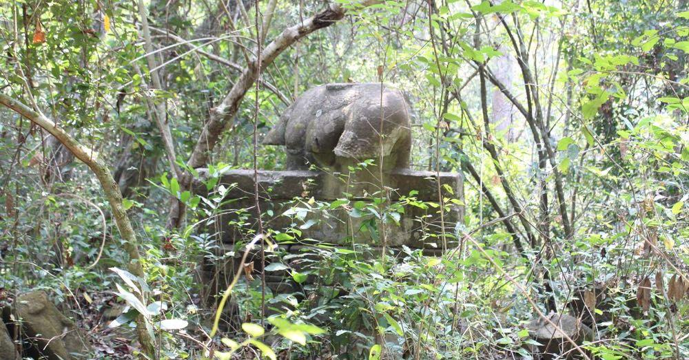Overgrown Bridge Guardian