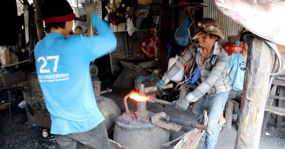 Cambodian Blacksmith