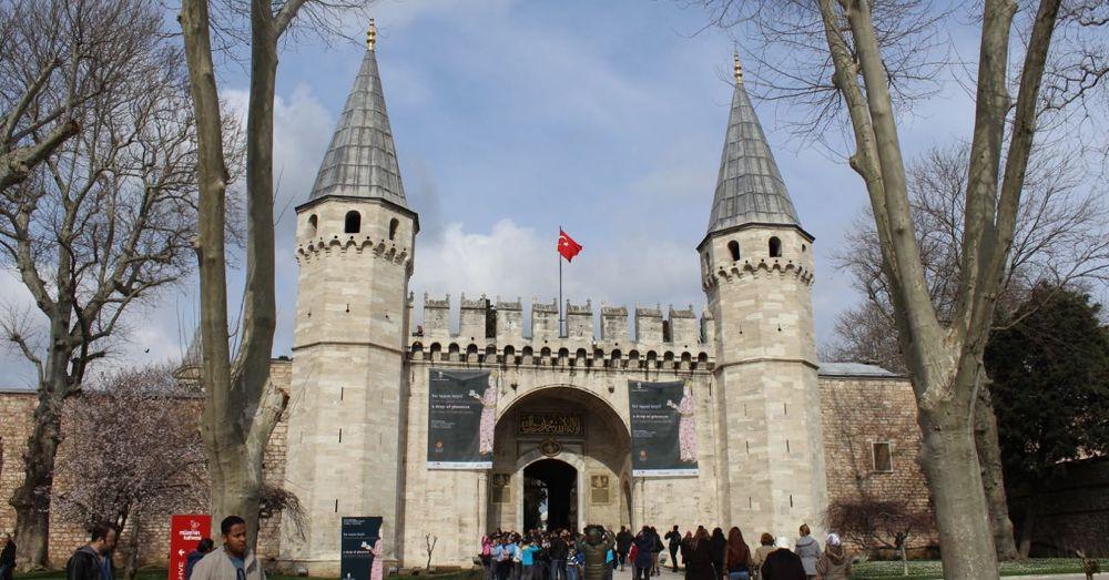Topkapi Palace Gate.
