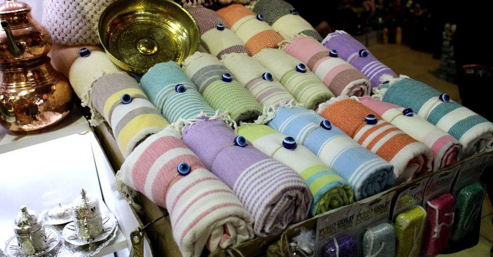 Turkish towels.