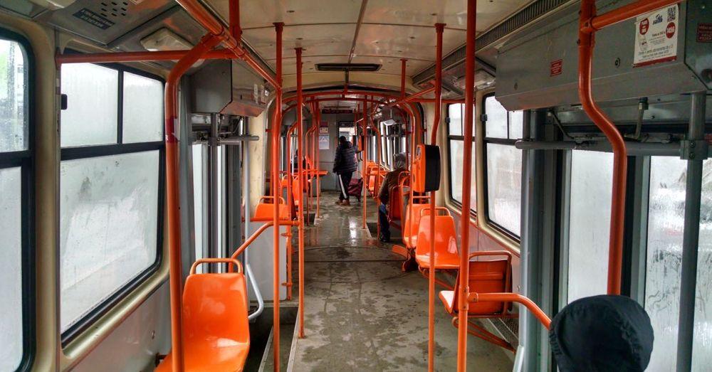 Bucharest tram.