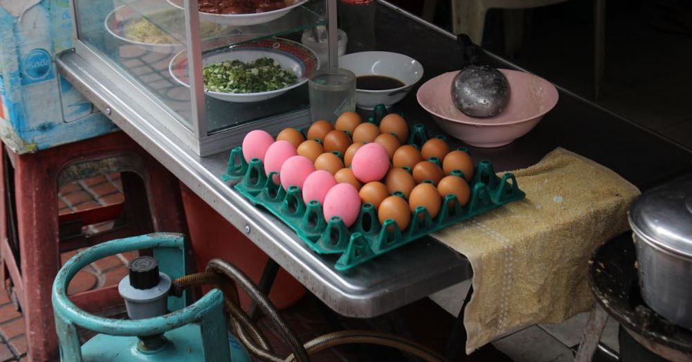 Century Eggs!
