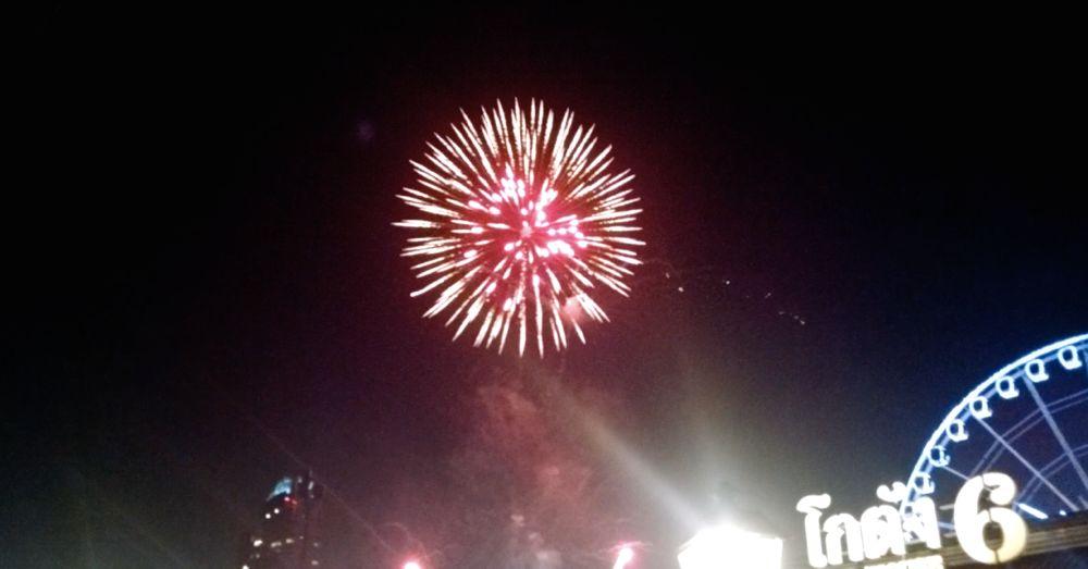 Fireworks, Asiatique
