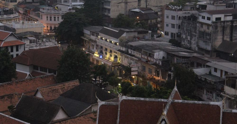 Bangkok from Wat Saket