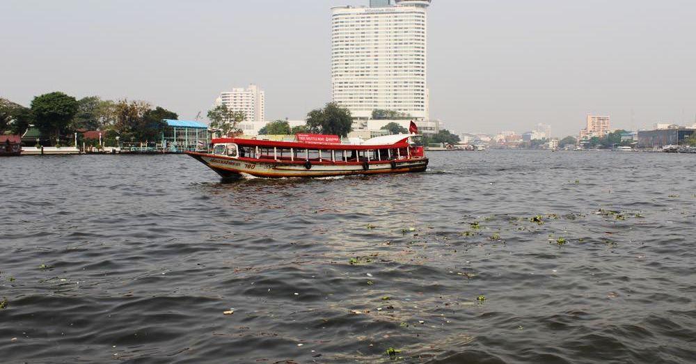 Boat on the Chao Phraya