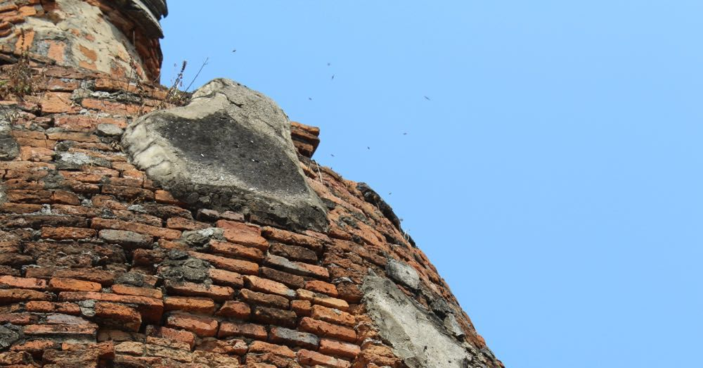 Beehive in a Stupa