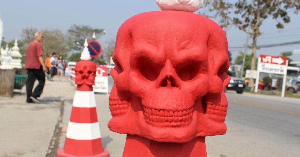 Red Skull, White Temple