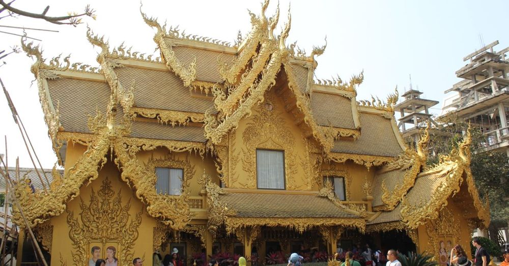 Golden Toilet, White Temple