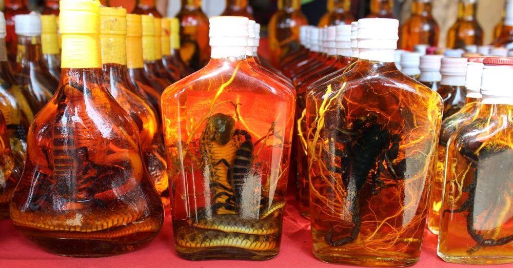 More traditional strange alcohols.