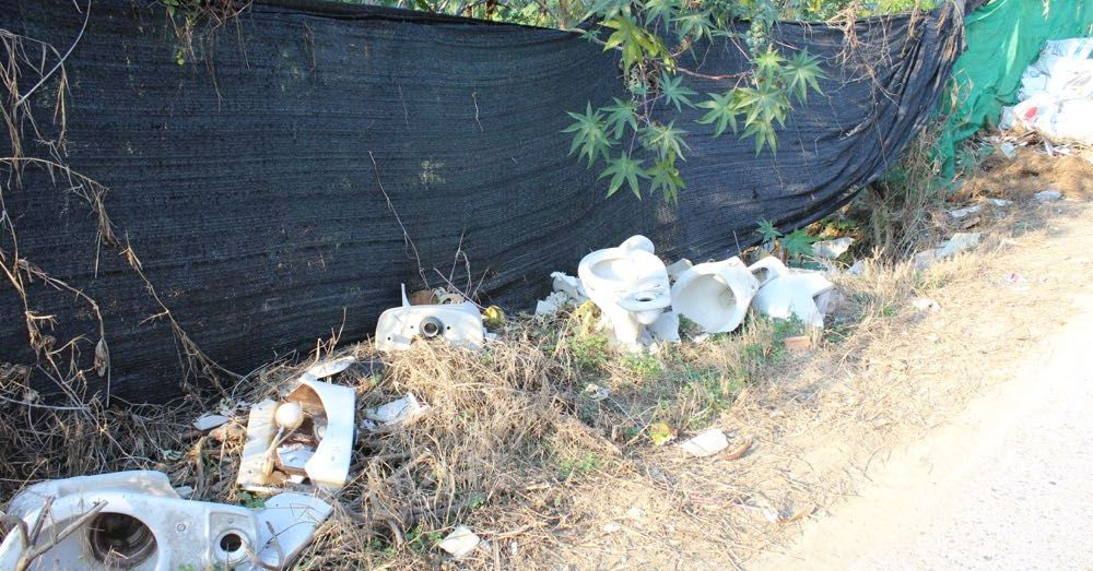 Chiang Mai Toilet Disposal Site