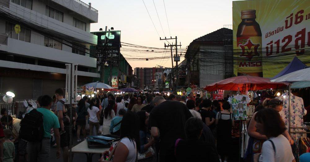 Weekend Walking Market, Twilight