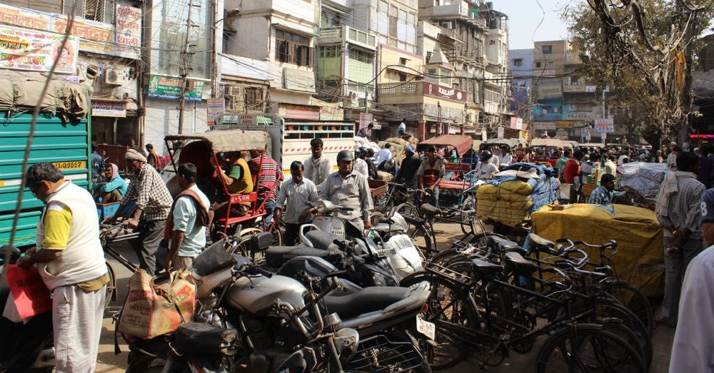 Streets of Old Delhi