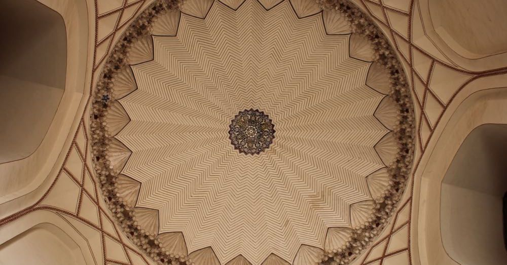 Central Dome Interior, Humayun's Tomb