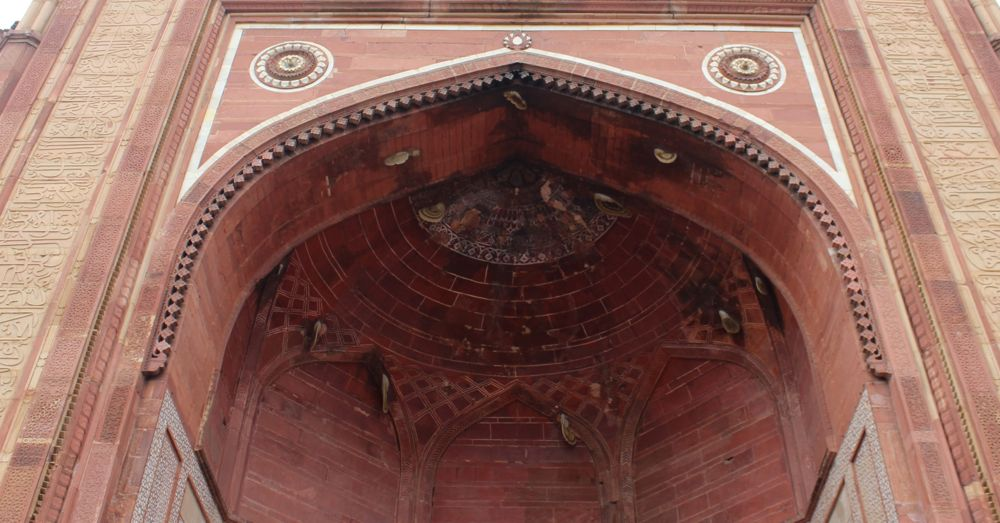 More Rafter Bees in Fatepur Sikri