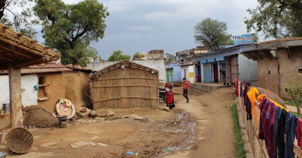 """Village"" at Chand Baori"
