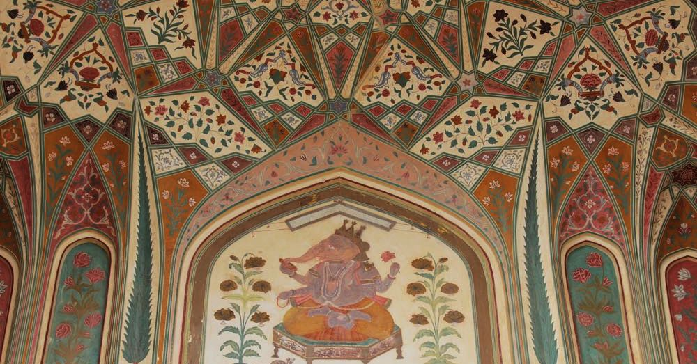 Ganesh Pol Gate Detail