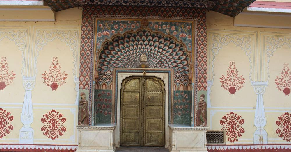 Door at the City Palace