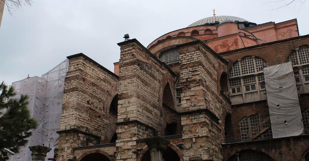 Hagia Sofia: Outside