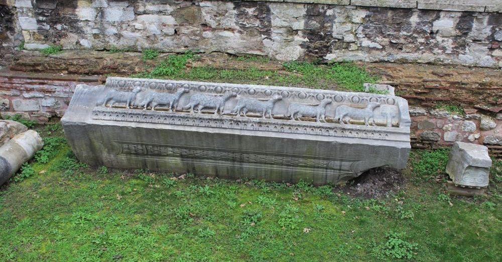 Remains of the Theodosian Hagia Sofia