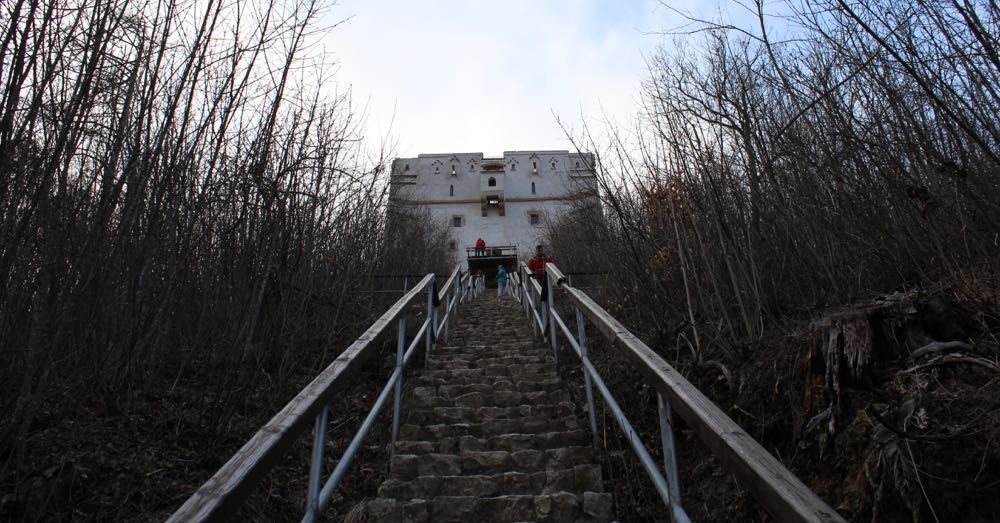 Stairs up to the White Tower
