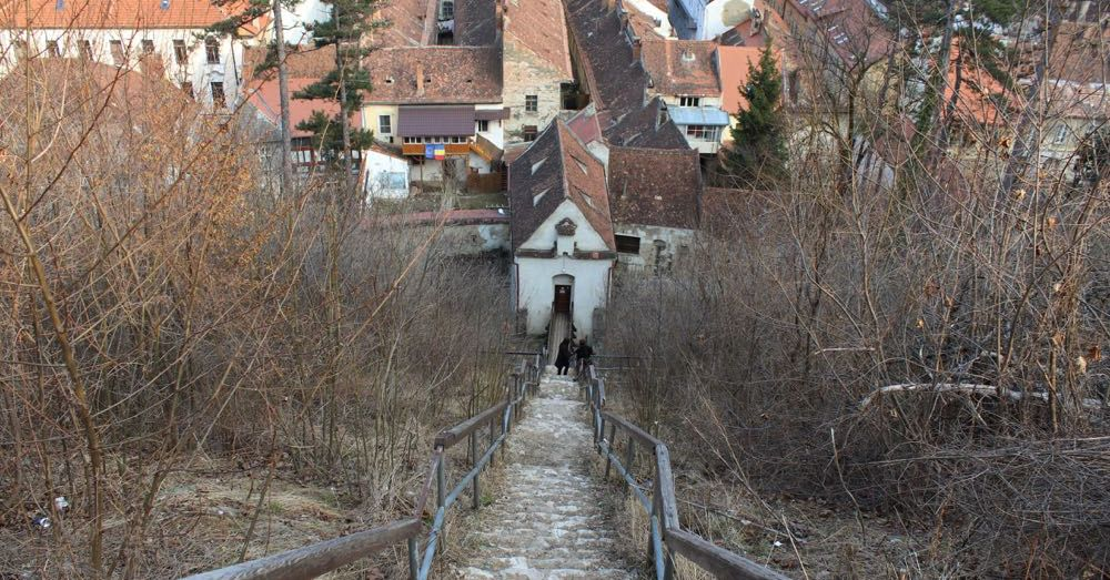 Stairs down to Graft Bastion