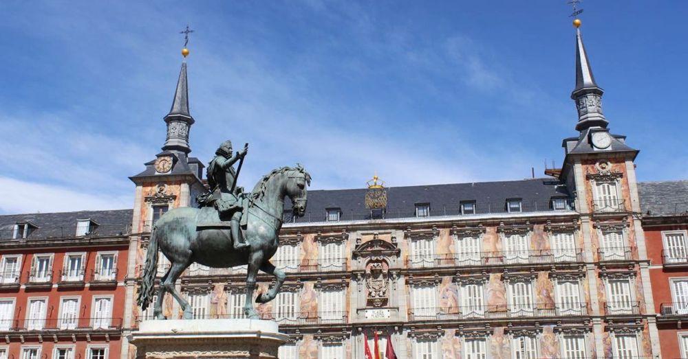 Phillipe II, Plaza Mayor