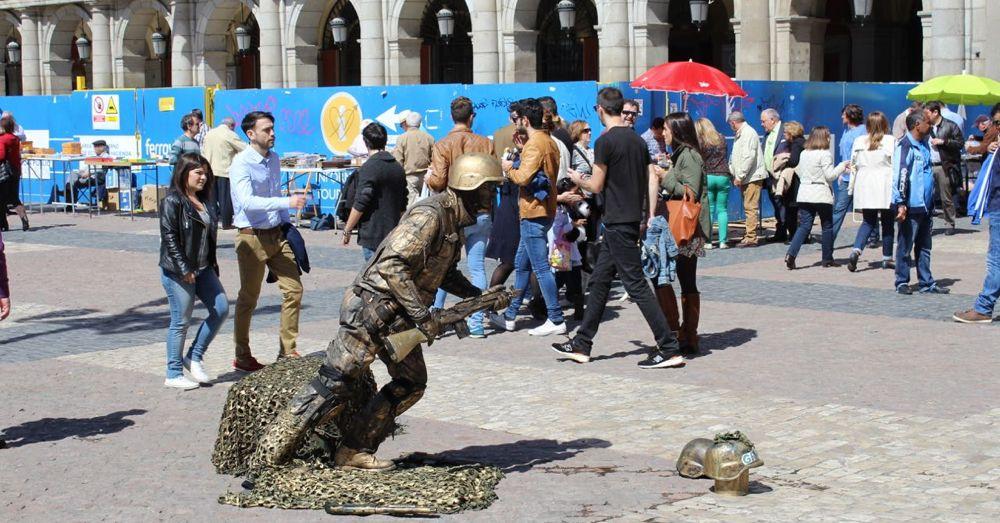 Street Performer, Plaza Mayor