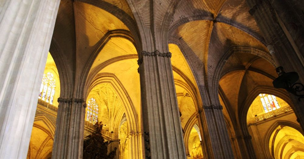 Seville Cathedral Pillars