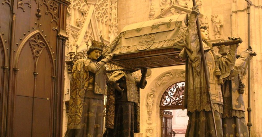 The tomb of Christopher Columbus