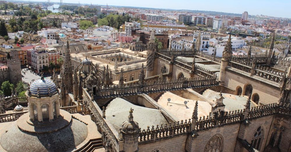 The Alcazar from the Bell Tower