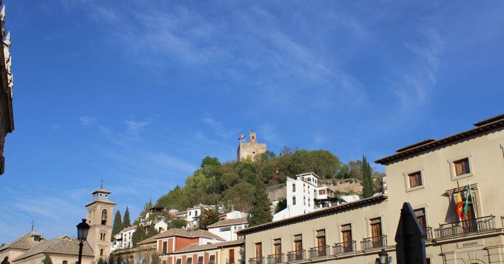The Alhambra over Granada