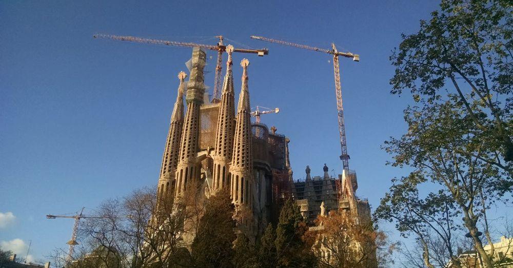 Sagrada Familia, First Glimpse