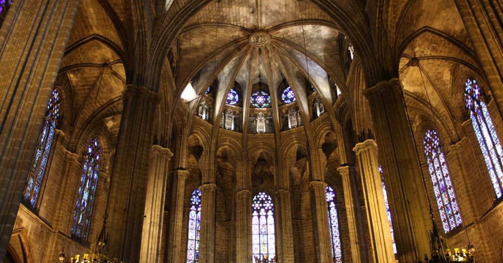 Barcelona Cathedral Arch