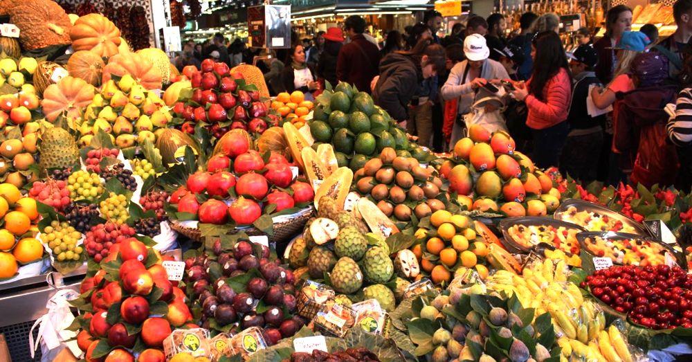 La Boqueria: Fruits!