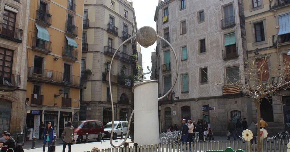 Placa de George Orwell Sculpture