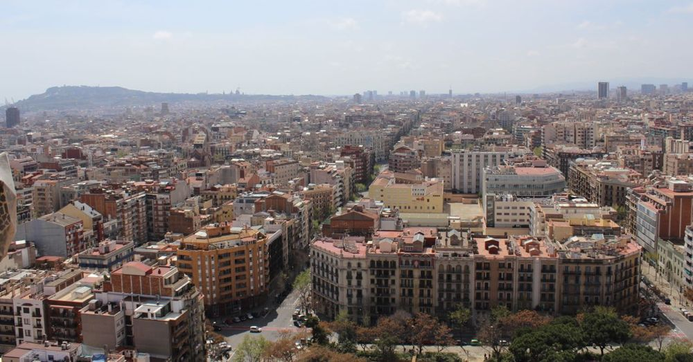 Barcelona from the Tower