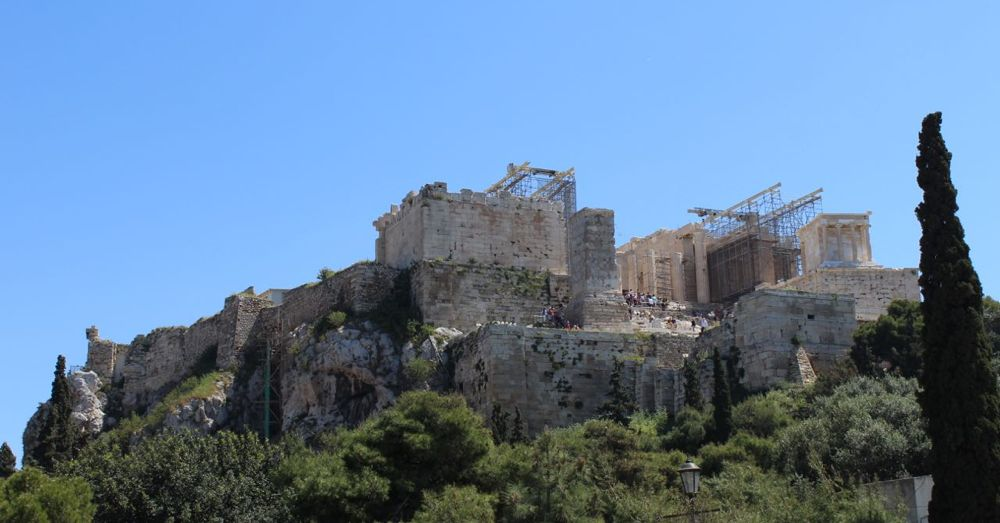 Acropolis from the Areopagus
