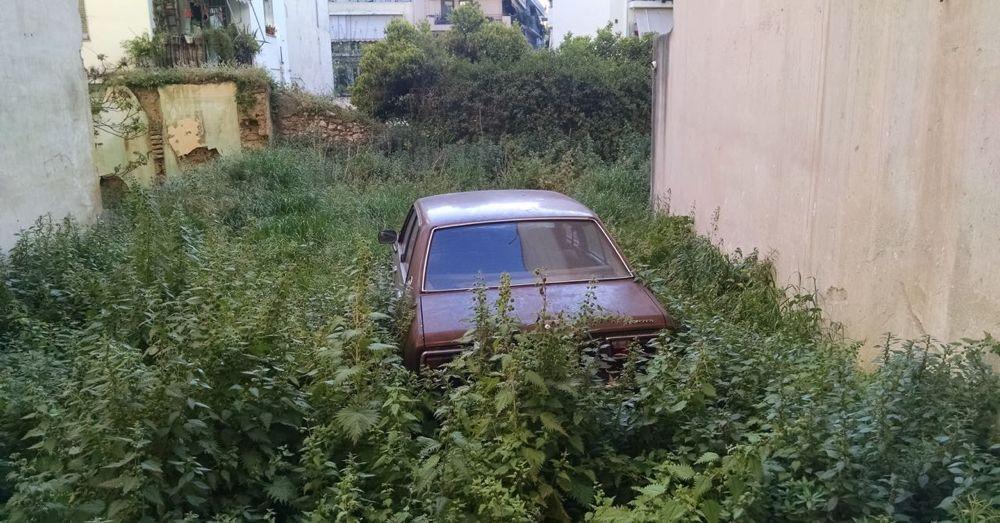 Grecian Parking Spot