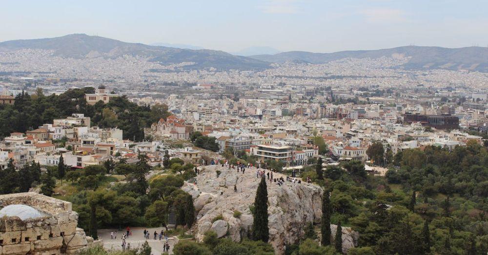 Aeropagus from the Acropolis