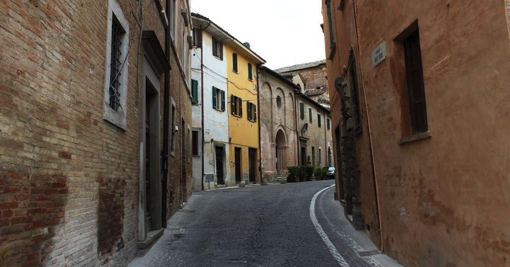 Road to Chiesa dei Morti