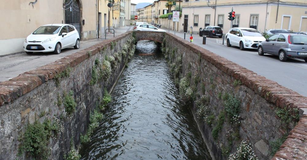 Canal in Lucca