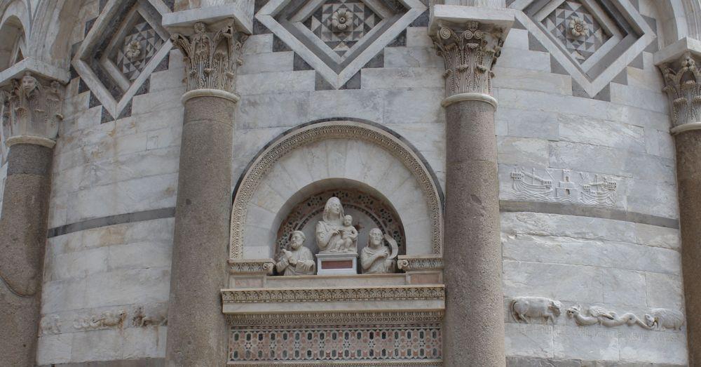 Door Archway: Leaning Tower of Pisa